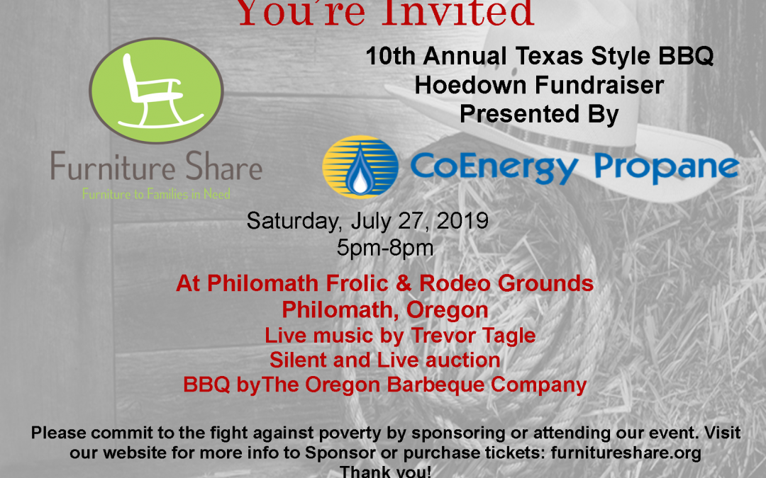 Annual BBQ and Auction Fundraiser | July 25, 2020 | 5-8pm