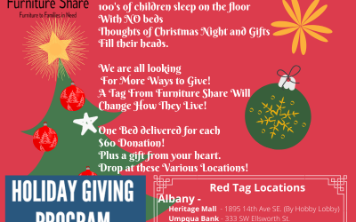 Christmas Giving Tree 2019 – November 30th | December 20th